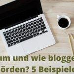 Image for the Tweet beginning: Praxisbeispiele für Behörden #Blogs —