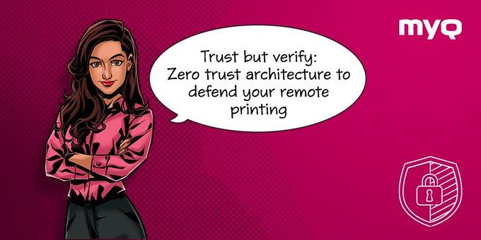 Twitter - 0️⃣ Zero trust. That's the approach companies shou