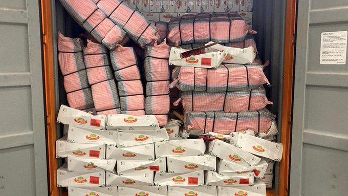 Cocaïne tussen chips, jodium, noten en bananen https://t.co/nbW3VfxfSi https://t.co/SfW25s5dy4