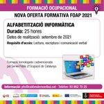 Image for the Tweet beginning: El Servei de Formació Ocupacional