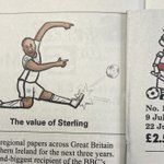 Image for the Tweet beginning: Here's my @sterling7 cartoon in