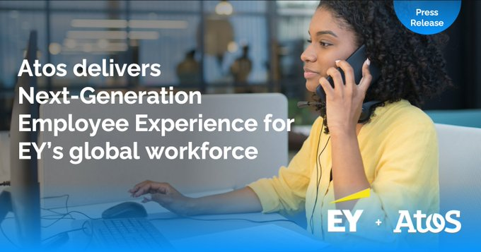 🆕 We are pleased to announce that Atos delivers Next-Generation Employee Experience...