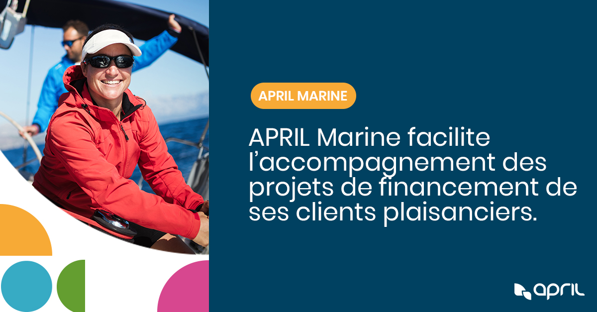 Image for the Tweet beginning: APRIL Marine facilite les projets