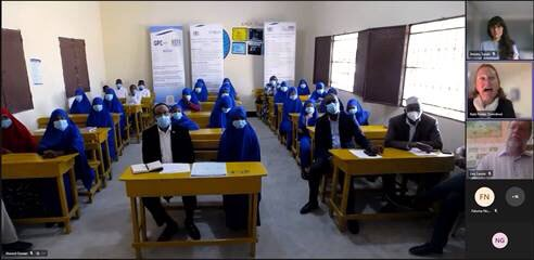 The 🇬🇧 is supporting the education sector in Somalia, with a particular focus on 🧕women and girls.  #December20 Primary School is one of schools we support, targeting children from marginalised communities to access quality education 📚👩🏾🎓 https://t.co/BKR4NopEDu