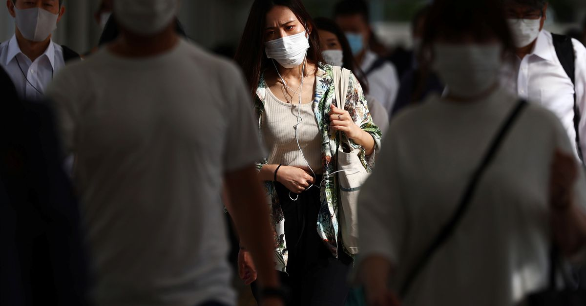 Daily coronavirus cases in Tokyo total 1,979, most since January https://t.co/TlRr7wOJQJ https://t.co/ue2cI3IkAt