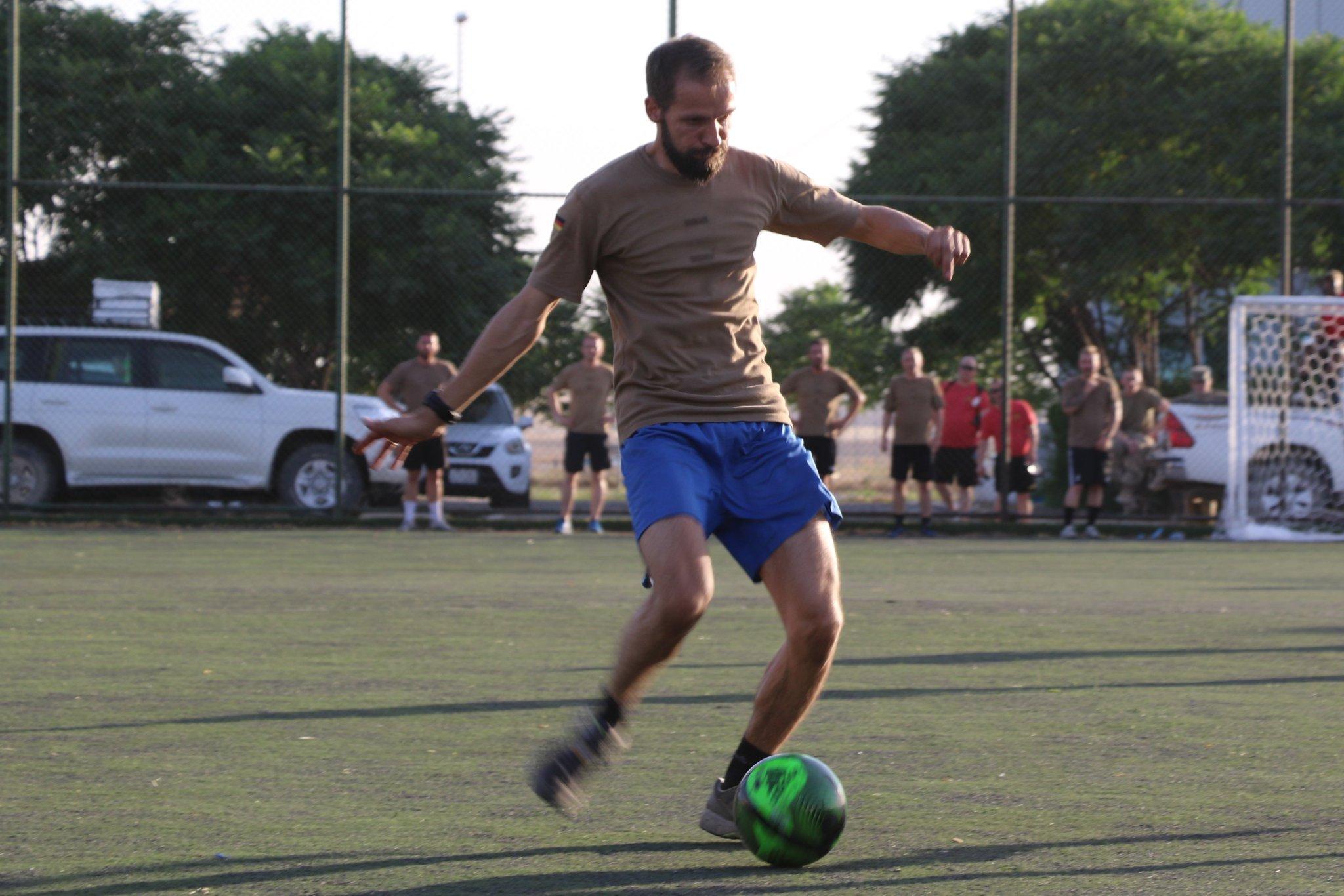 Fußballturnier Foto