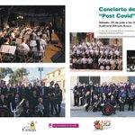 Image for the Tweet beginning: #Aspe: Concierto de la Sociedad