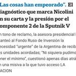 Image for the Tweet beginning: La carta del Gobierno a