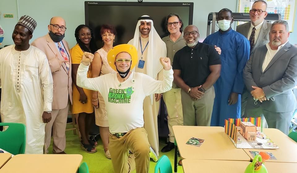 Thx @NYCSchools @NYCFoodPolicy @News12BX @bronxstrong @BronxnetTV @NYSenatorRivera @NYSEDNews for your support of @greenBXmachine