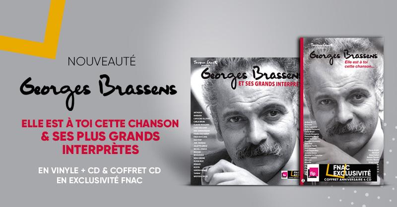 MUSIQUE 🎧 | Nouveauté : Retrouvez le meilleur des chansons de Georges Brassens interprétées par les plus grands artistes. En précommande en CD, vinyle : une exclusivité Fnac ! 👉 https://t.co/cdlLw86XJz https://t.co/rBoyUjD9kd