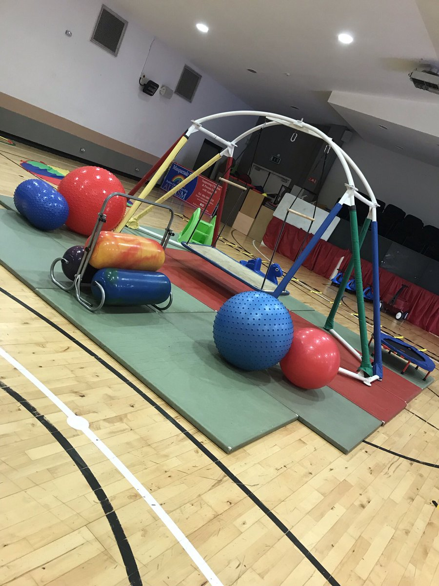 We hope to expand our services further but also put the rooms we need in place. Sensory integration room & sport's hall  for our members we would love to have so we can help with lots of Sensory Diet our children & teens need.We are sharing this space but we are doing our best ! https://t.co/HTd0BHHsNM
