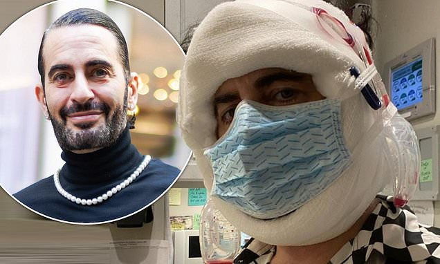 Marc Jacobs reveals he has had a facelift as he shares snap of his heavily-bandaged face Photo
