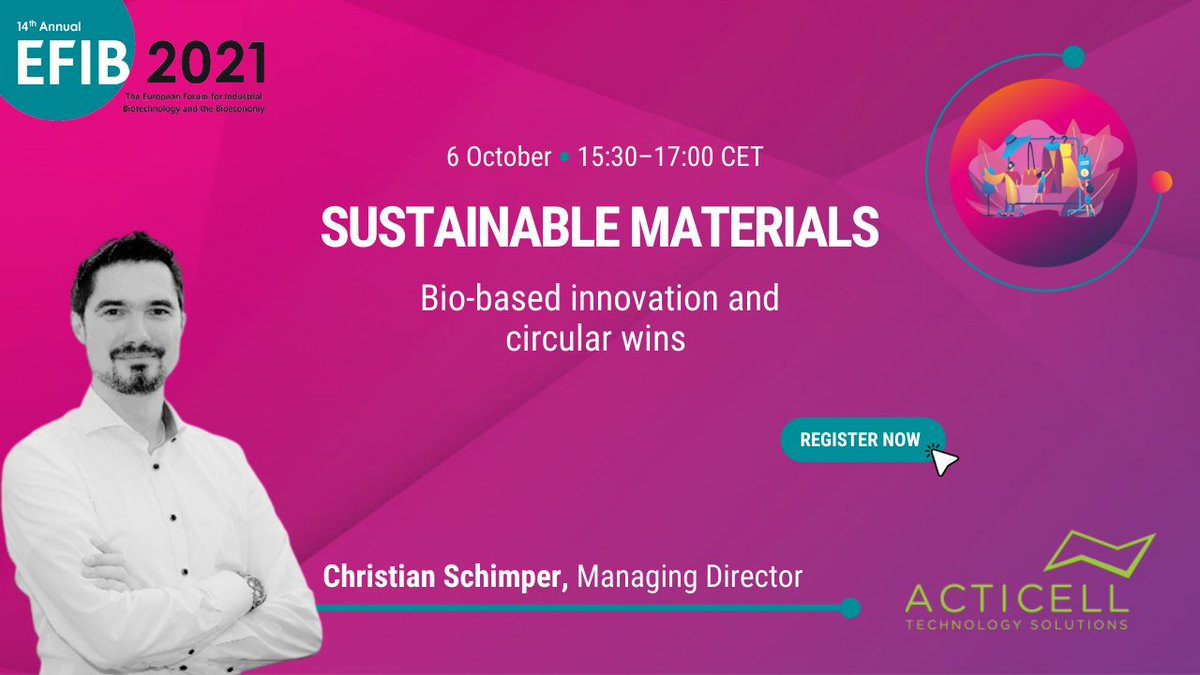 test Twitter Media - #EFIB2021 talks about #sustainablefashion♻️👗 with Christian Schimper. He is the Managing Director of Acticell, a company that develops innovative chemical formulations for new trends in the textile industry.   More about fashion and innovation in Vienna: https://t.co/W4iQM3b25f https://t.co/YvsCorJ8VT