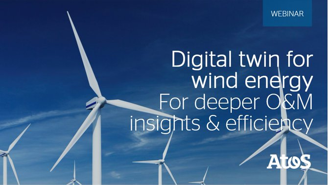 [#AtosEnergyUtilities] The future of wind energy is now. In this short webcast, discover how...