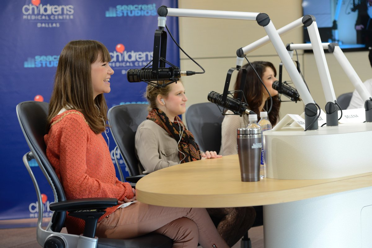 Sending a big virtual birthday hug to one of our founding ambassadors, @selenagomez! We are so grateful for 10+ years of memories with you and love looking back on all the happiness you have spread to patients in #SeacrestStudios nationwide!