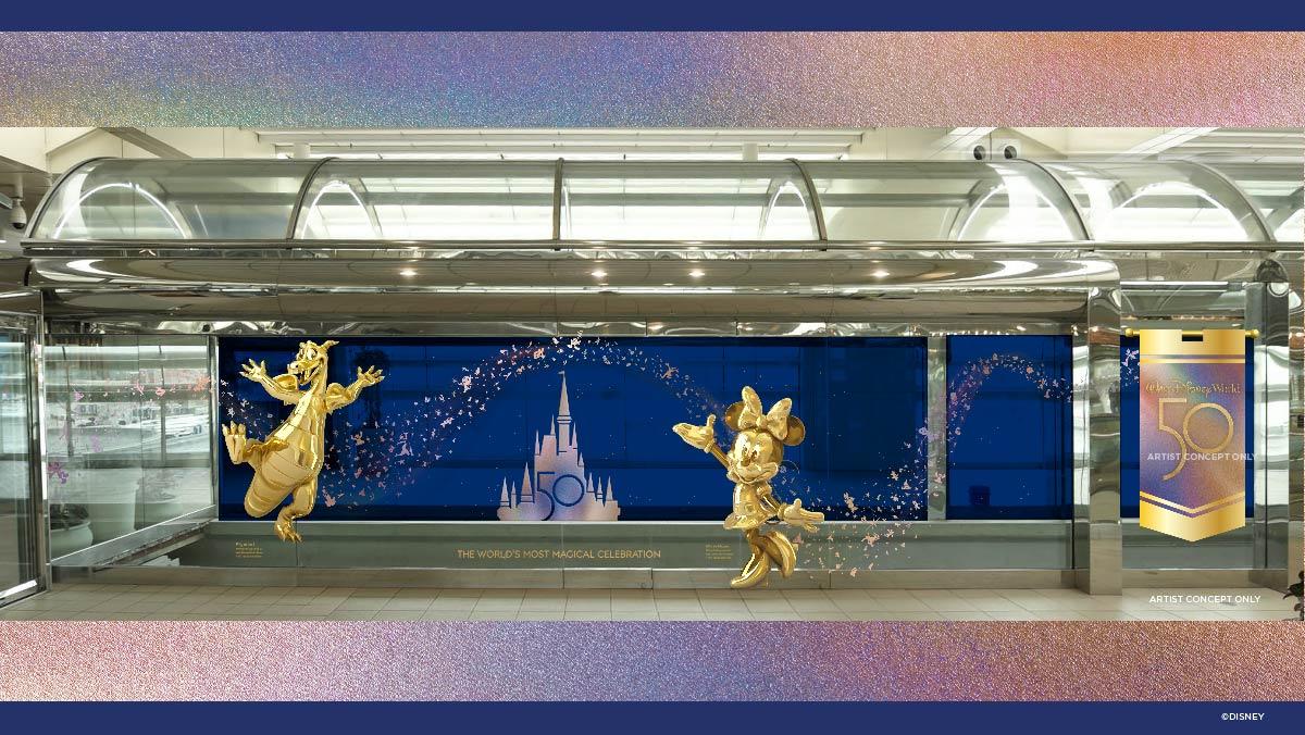Disney revela novidades para o aeroporto de Orlando
