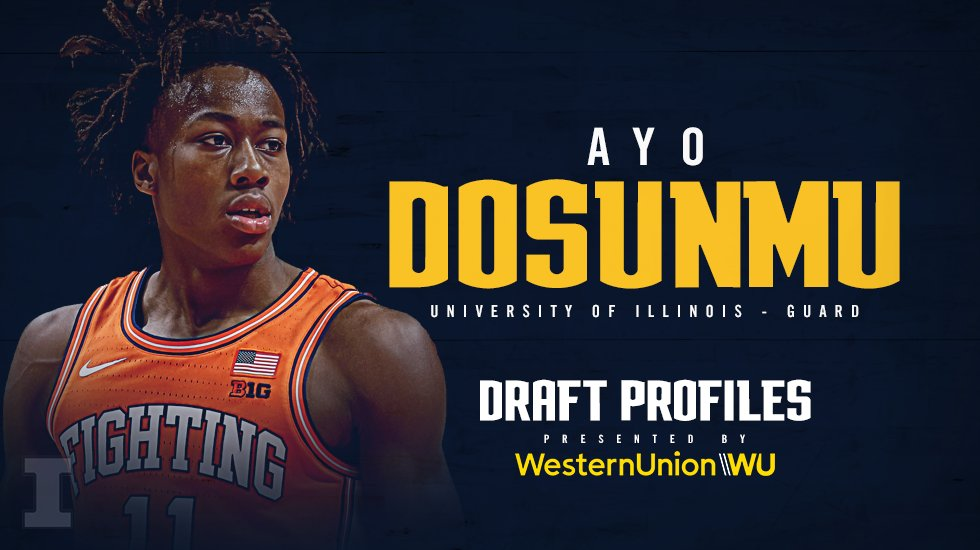 .@AyoDos_11 brings a variety of skills to the table on both ends of the floor.   Could the @IlliniMBB guard be a good fit at pick 26?   #MileHighBasketball https://t.co/llx1RqEaks