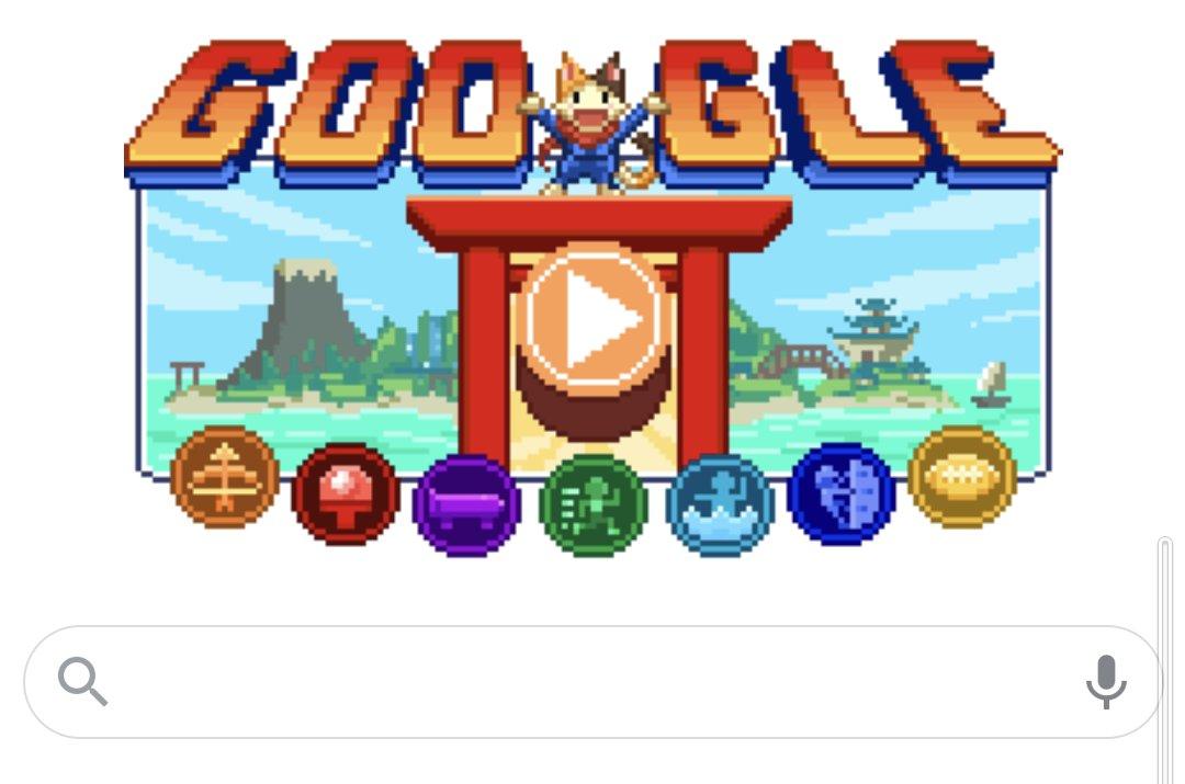 Googleのゲーム 写真