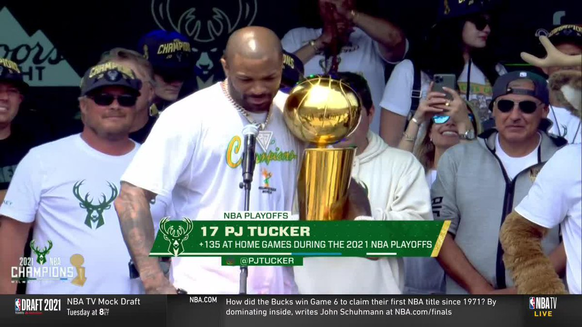 """""""We got dogs. They just don't know how to BE dogs.""""  P.J. says that mentality was already in Milwaukee https://t.co/lyYSztRGdL"""