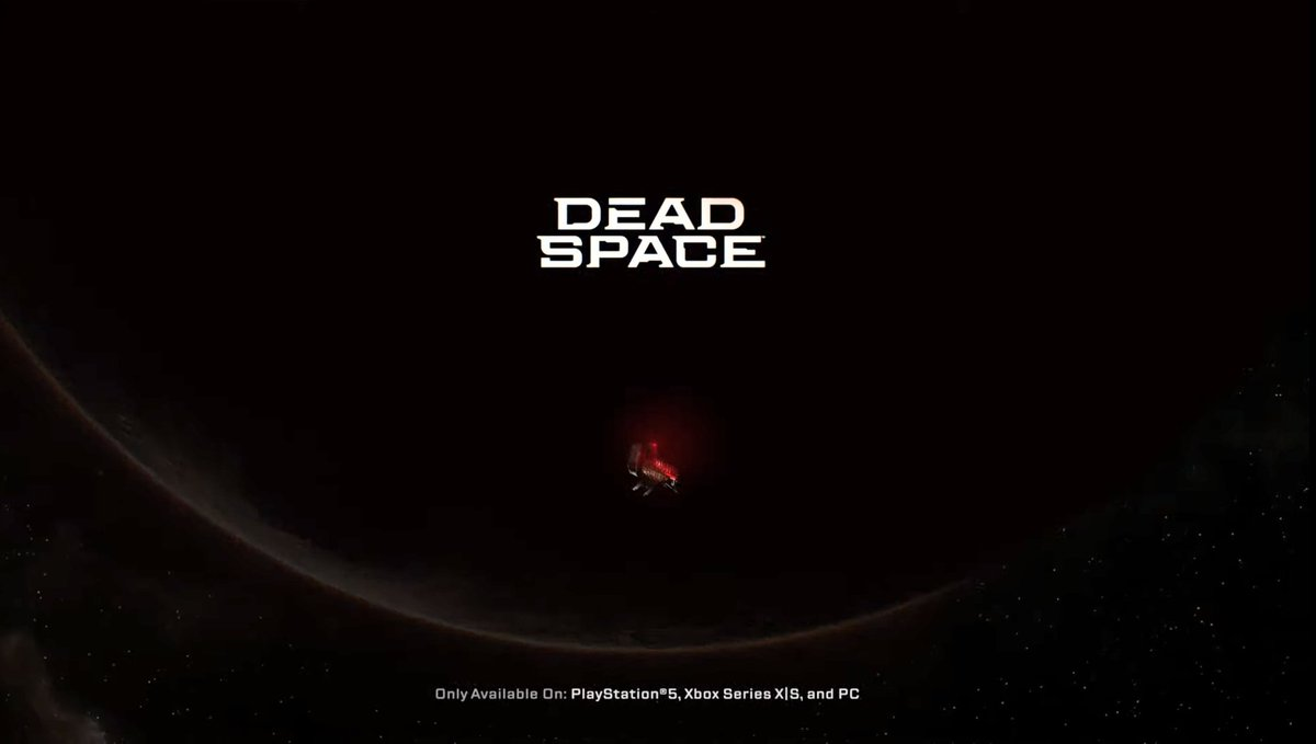 RT @_XboxNews: Next-gen Dead Space remake announced, will release on Xbox Series X|S, using Frostbite engine https://t.co/FcRaFuOYGf