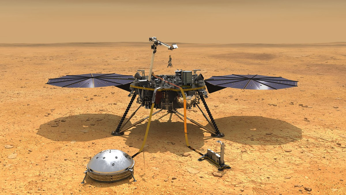 Journey to the center of Mars with the @NASAInsight team in a live chat on July 23 at 9am PT (noon ET/1600 UTC). InSight has detected hundreds of quakes since 2018 & the events shed light on the crust, mantle & core of the Red Planet. Ask ?s with #AskNASA https://t.co/XuUB5qJ9IW https://t.co/8hcikGuYdm