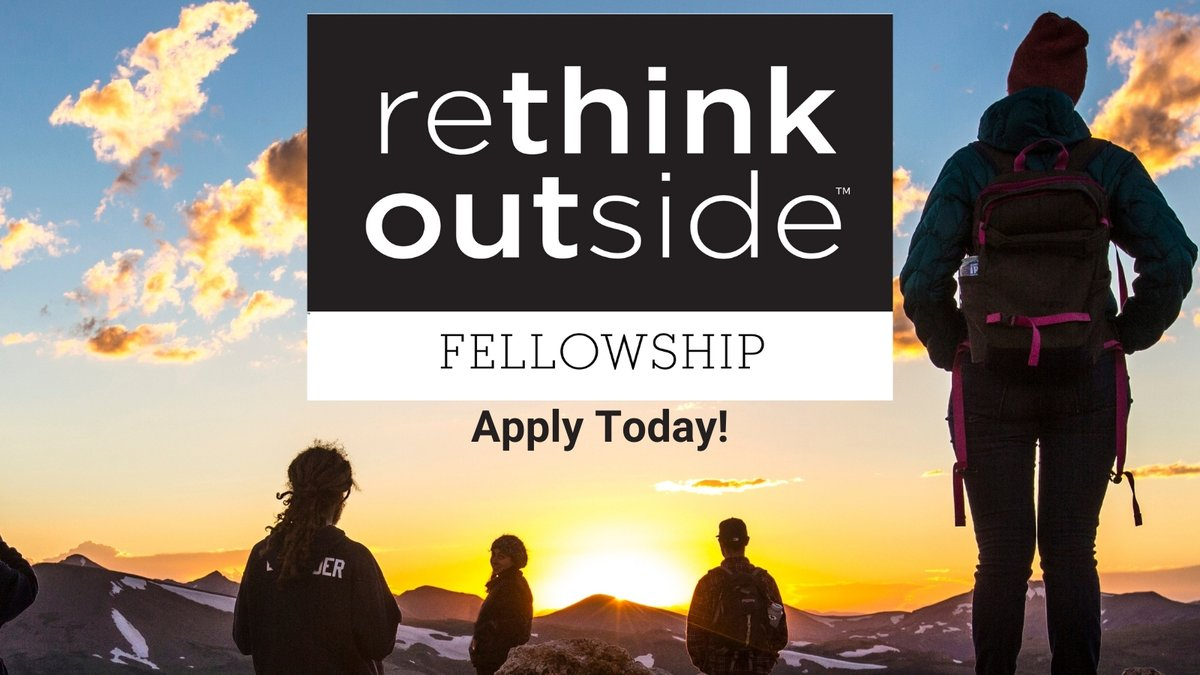 Curious about the Rethink Outside™ Fellowship? Learn more at one of the upcoming informational webinars!  📅  *Today* July 22 or Aug. 10 at 11 am PT / 2 pm ET ➡️  Registration required. This is an open webinar. Please share!  https://t.co/blMQXAK1YK https://t.co/nBALBDILgY