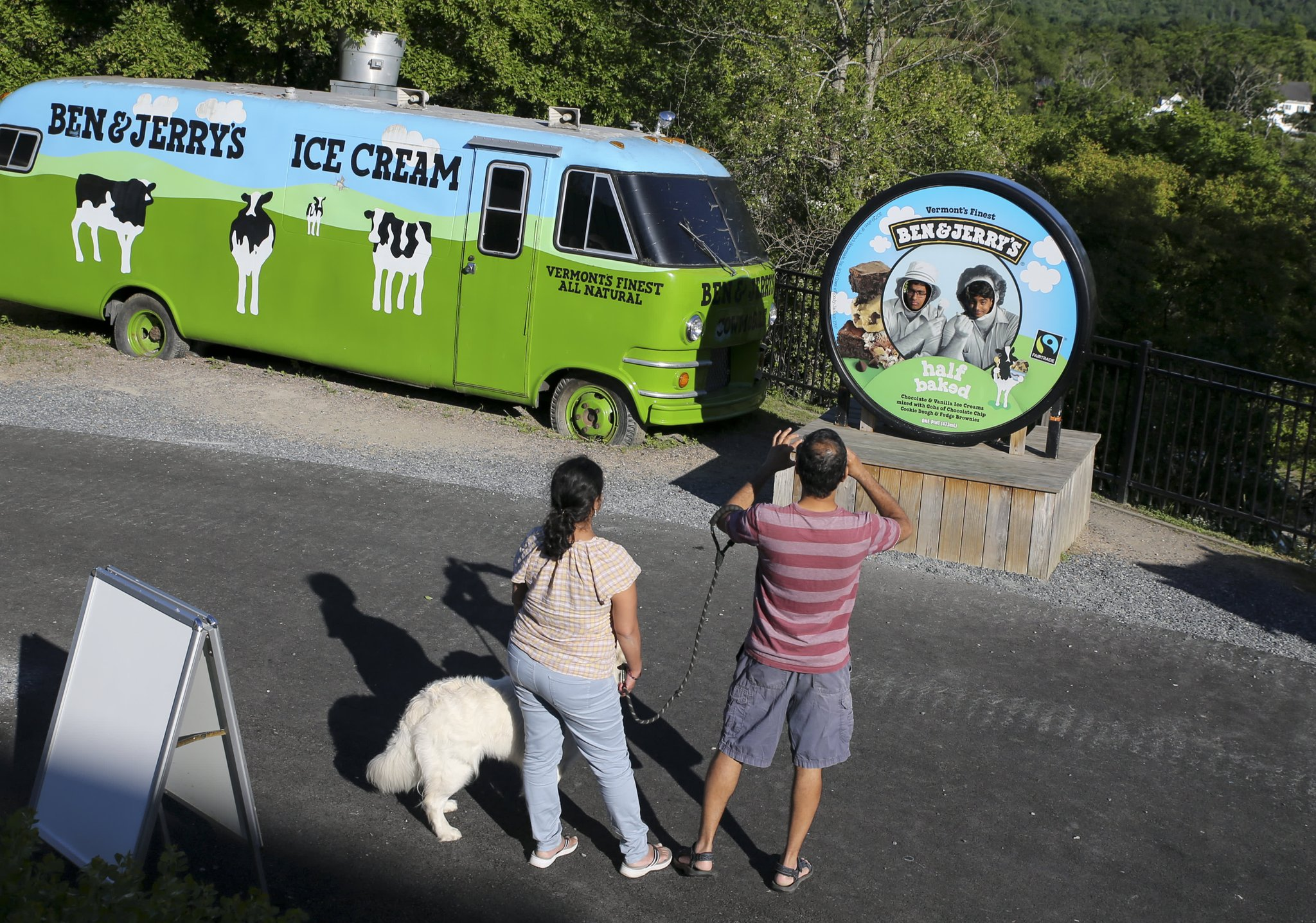Texas gets involved in Israels fight with Ben & Jerrys over West Bank boycott Photo
