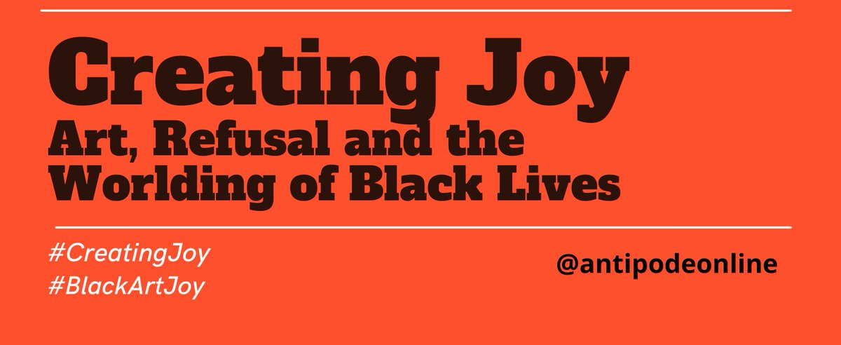 Are you a Black filmmaker/digital artist interested in creating art that looks at joy in Black life? We could support your project with a £700 grant.   Apply here: https://t.co/cFeynfx1Ss  @antipodeonline  #CreatingJoy #BlackArtJoy https://t.co/JzcO0tRhjI