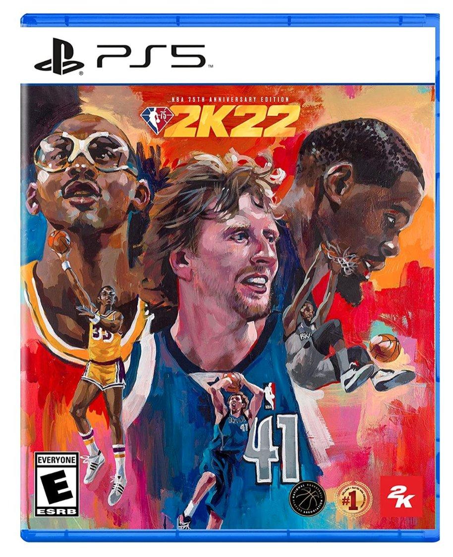 NBA 2K22 PS5 75th Anniversary Edition  $99.99 Amazon