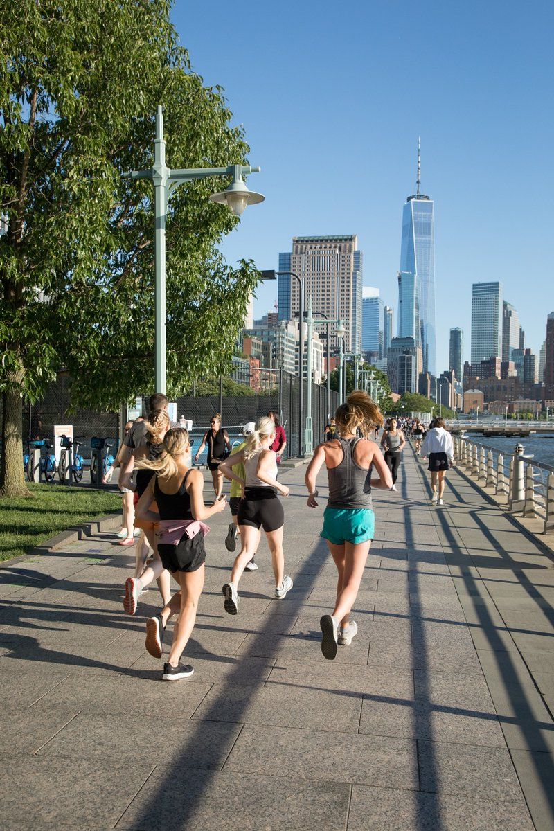 Beginning at #HRPK's Pier 40, Healthy on the Hudson's Run Club takes you on a scenic journey through the Park, supported by @lululemon.  Join us tonight and every Thursday at 6:30 PM through the end of September for nature-filled runs. To  register, visit https://t.co/1dZWoIme6g. https://t.co/ITjGJVnvqY