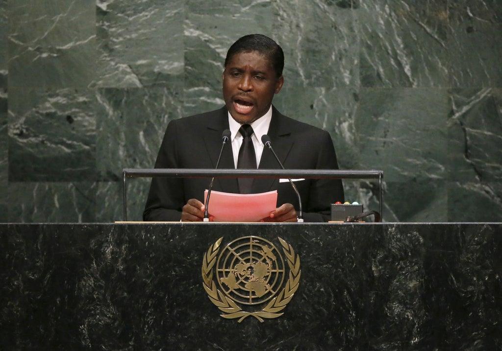 UK sanctions Equatorial Guinea leaders son over lavish lifestyle spending Photo