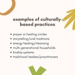 Image for the Tweet beginning: ✨Culturally-Rooted Care✨