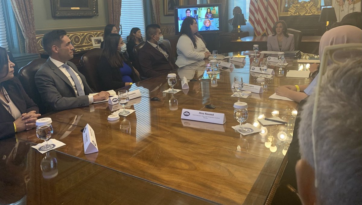 Proud of #MD05 constituent Erika for advocating on behalf of #DACA recipients at the White House. Erika is an aspiring medical assistant & worked as an essential worker throughout this crisis. Her #HomeIsHere, & I will fight to ensure a pathway to citizenship for #MD05 Dreamers.