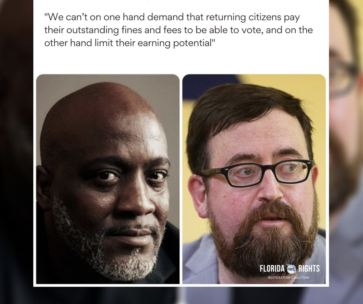 Returning citizens will no longer be ignored thanks to Desmond Meade & Neil G. Volz. Go to the link, get the FIRESIDE app for IOS, then tune in to the #OURVOICE podcast on 7/27 @6pm ET for a real take on the fight against felony disenfranchisement.  link: https://t.co/ZZiNskB7kG https://t.co/ob0Zeoz0ea