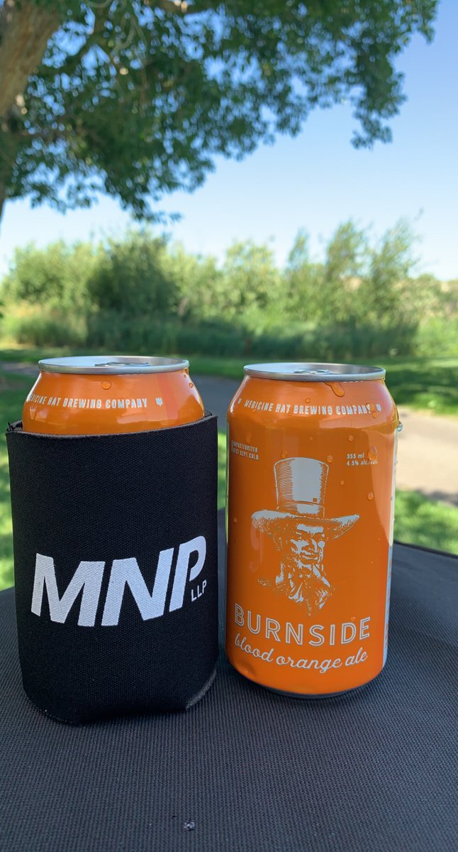 Everyone is loving the local @MHBrewCo refreshments!