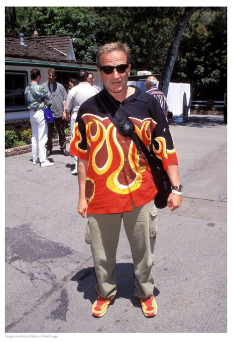 Happy 70th birthday to style icon and infinite life source, Robin Williams