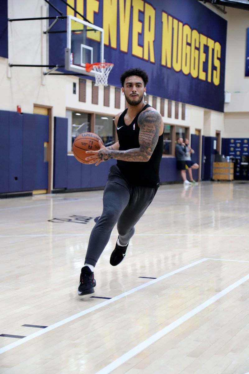 Always grinding 📈  #MileHighBasketball https://t.co/Q8EMQxTHlM
