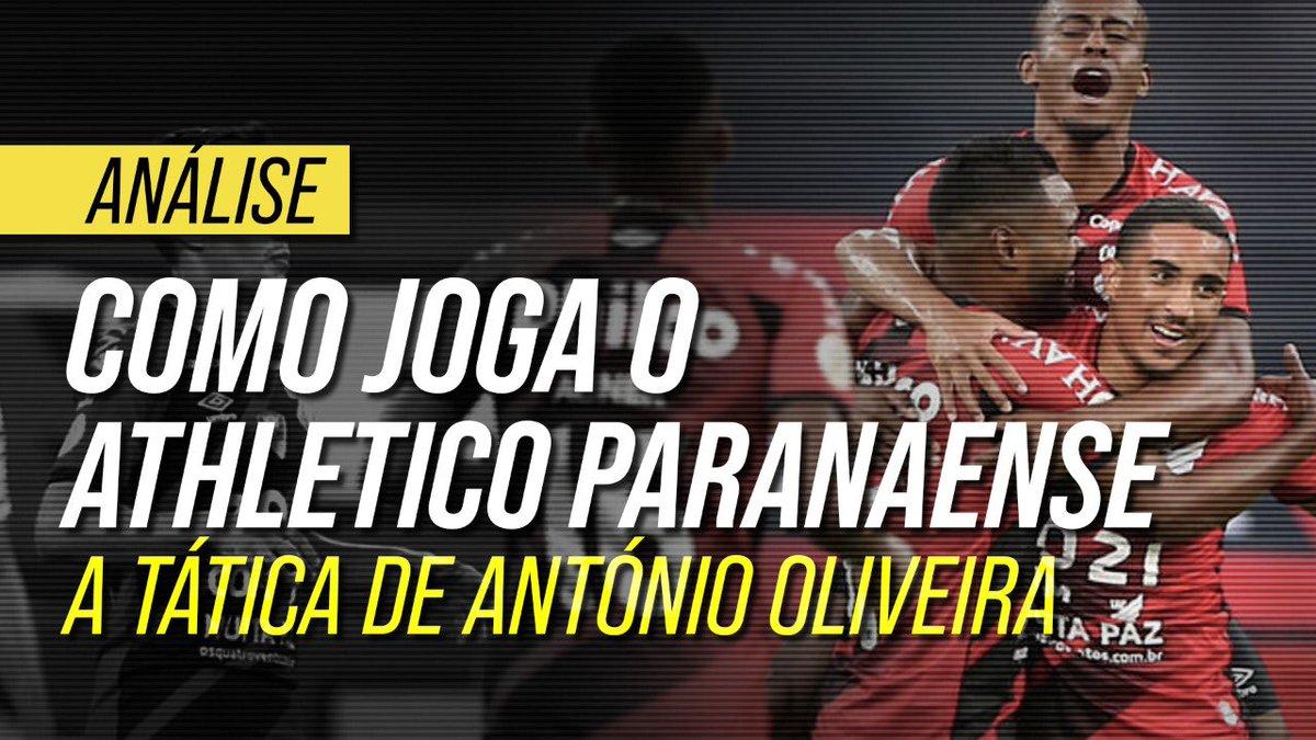 Você sabe como joga o Athletico de António Oliveira? Detalhe na vídeo análise do @FootureFC. Desde a fase defensiva, passando por saída de bola e construção dos gols. Dá aquela moral. https://t.co/nYZ4BGmmia