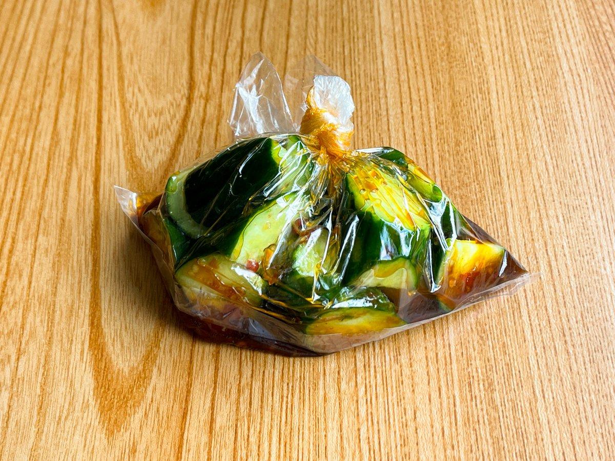 ピリ辛な味が好きな人は是非!3ステップで作れちゃう、きゅうりレシピ!