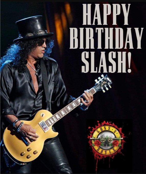 Saul Hudson (Slash) (Guns N\ Roses) July 23, 1965. HAPPY BIRTHDAY!