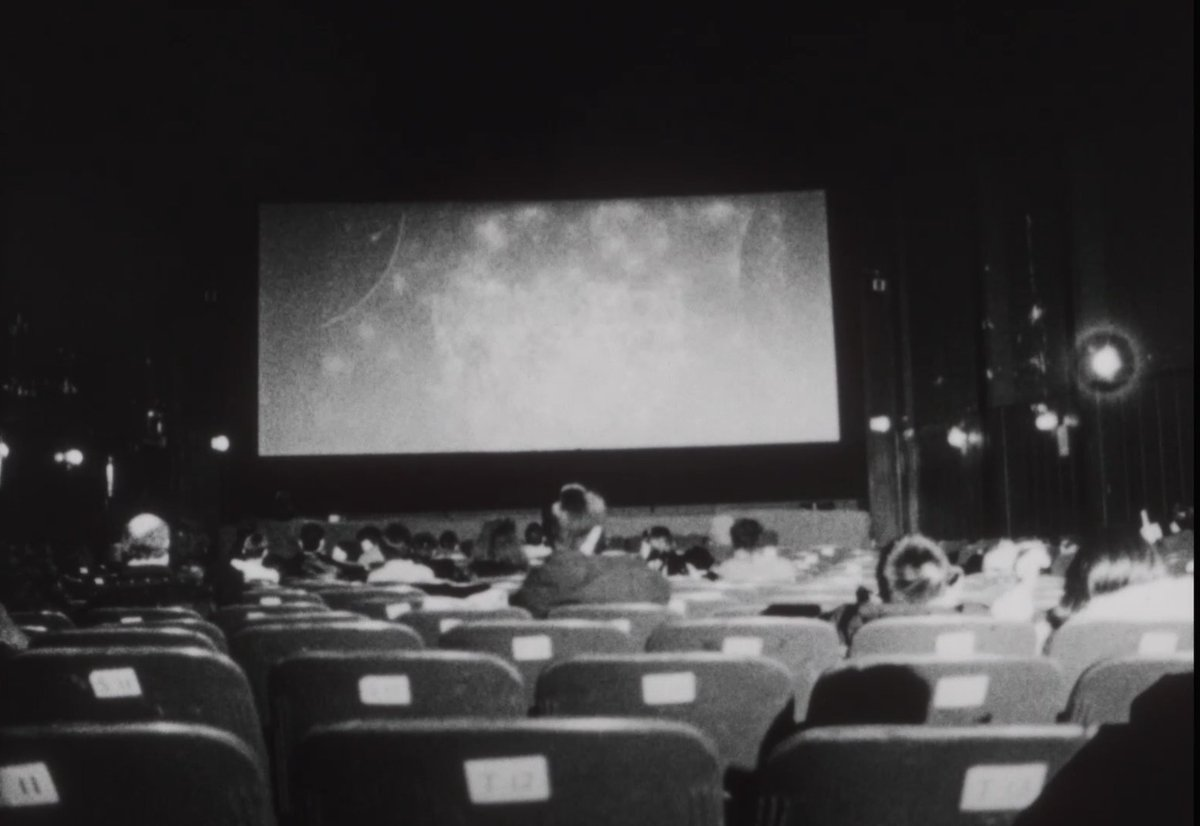 MUSIC PALACE (2005)  final night for @MayslesCinema truly exquisite Cinema, In Memoriam series, I recommend you drop everything and binge. this one's a loving elegy for Chinatown's last grindhouse, only 10 min long  https://t.co/s4hcjPH6Bn https://t.co/2uOhHQBjk4