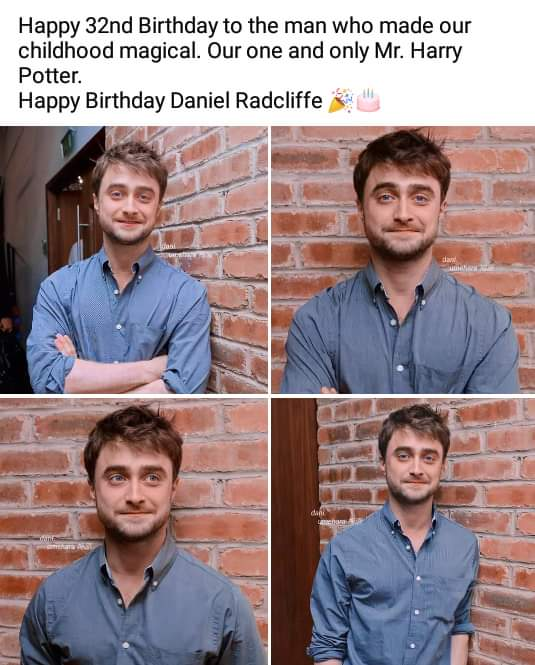 Happy birthday to our Harry Potter