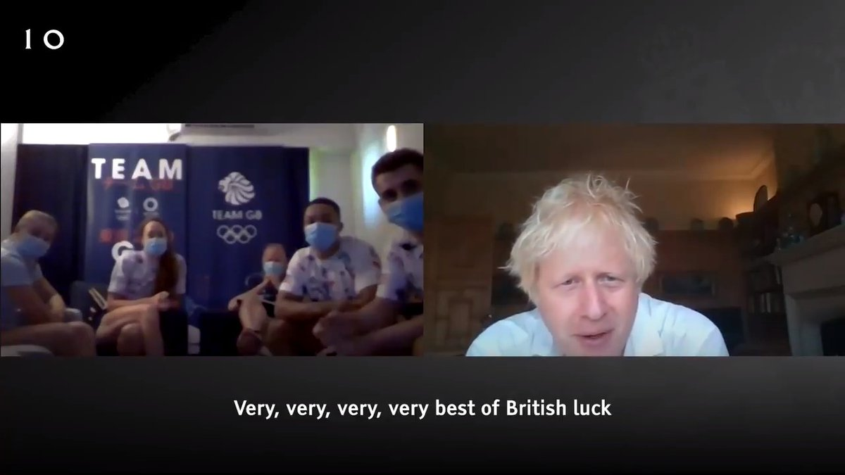 Absolutely fantastic to speak to some of our brilliant @TeamGB athletes in Tokyo ahead of the Opening Ceremony tomorrow.   The whole country is behind you! 🇬🇧  #Tokyo2020 #TeamGB https://t.co/alDCVerHKC