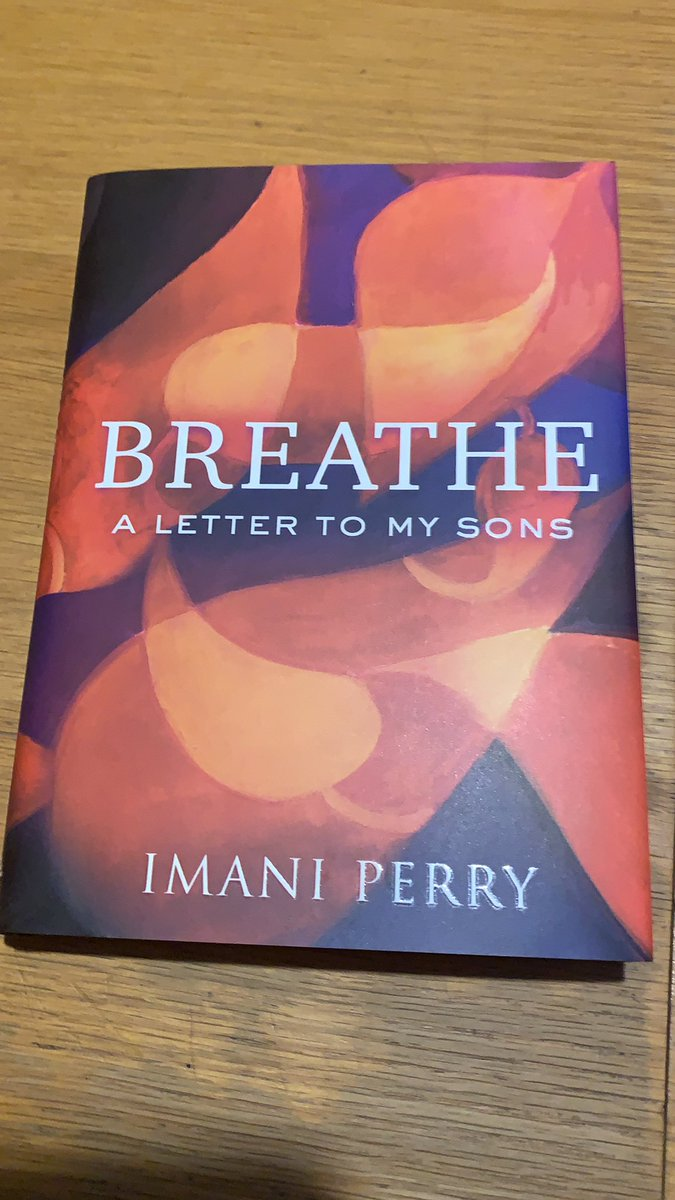 I know I'm late, but my GOD this book is go good. @imaniperry packed so much into this quiet, lyrical, loving, brilliant book. https://t.co/Iq0wJh4WJk