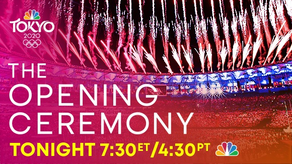 Opening Ceremony @NBCOlympics viewing info⬇️
