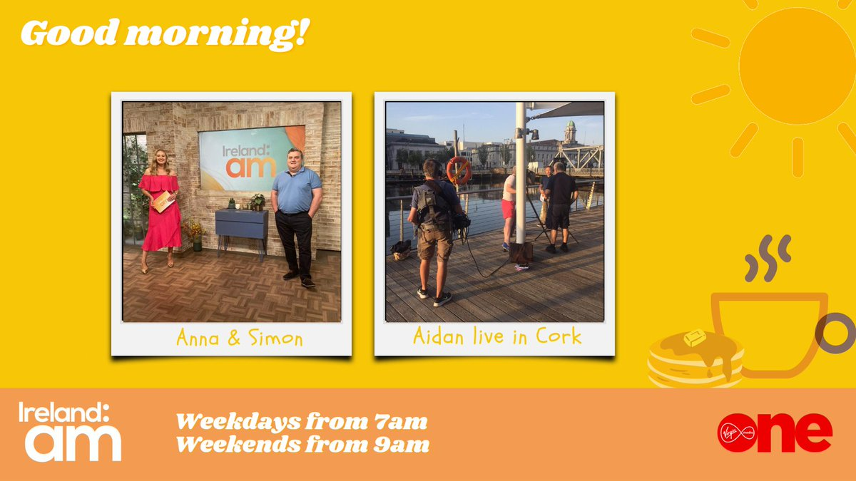 Happy Friday!  @SimonDelaneyEsq & @daly_anna are with you right up 10am, and we'll be crossing live to @AidanPowerful in Cork City throughout the morning! #IrlAM https://t.co/oA58Jbj9Ji