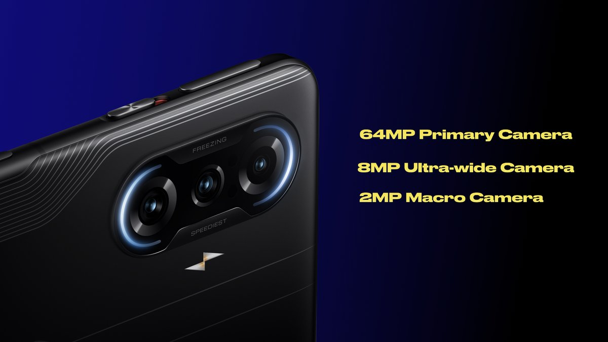 Bringing details to life with exceptional clarity on the #POCOF3GT with 64MP ED Lens. #SwitchItUp to capture the madness. #POCOF3GT https://t.co/bQmoIkwhmQ