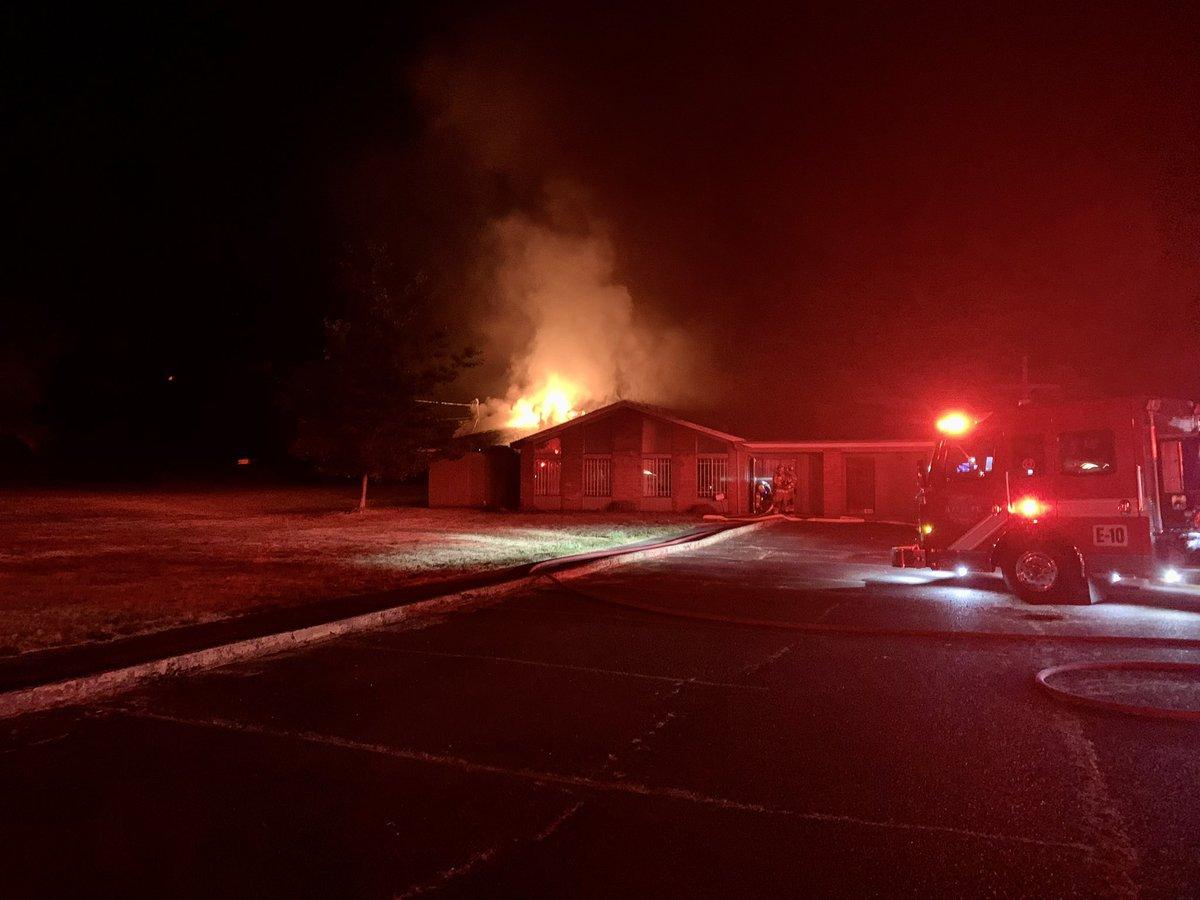 Overnight Fire Razes Through Washington Church, Leaves Heavy Damage   iHeartRadio