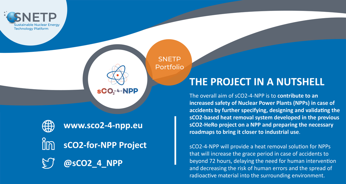 In case you missed it! @sCO2_4_NPP is highlighted in @SNE_TP portfolio 👇🏻 #sCO2 #nuclearpowerplants
