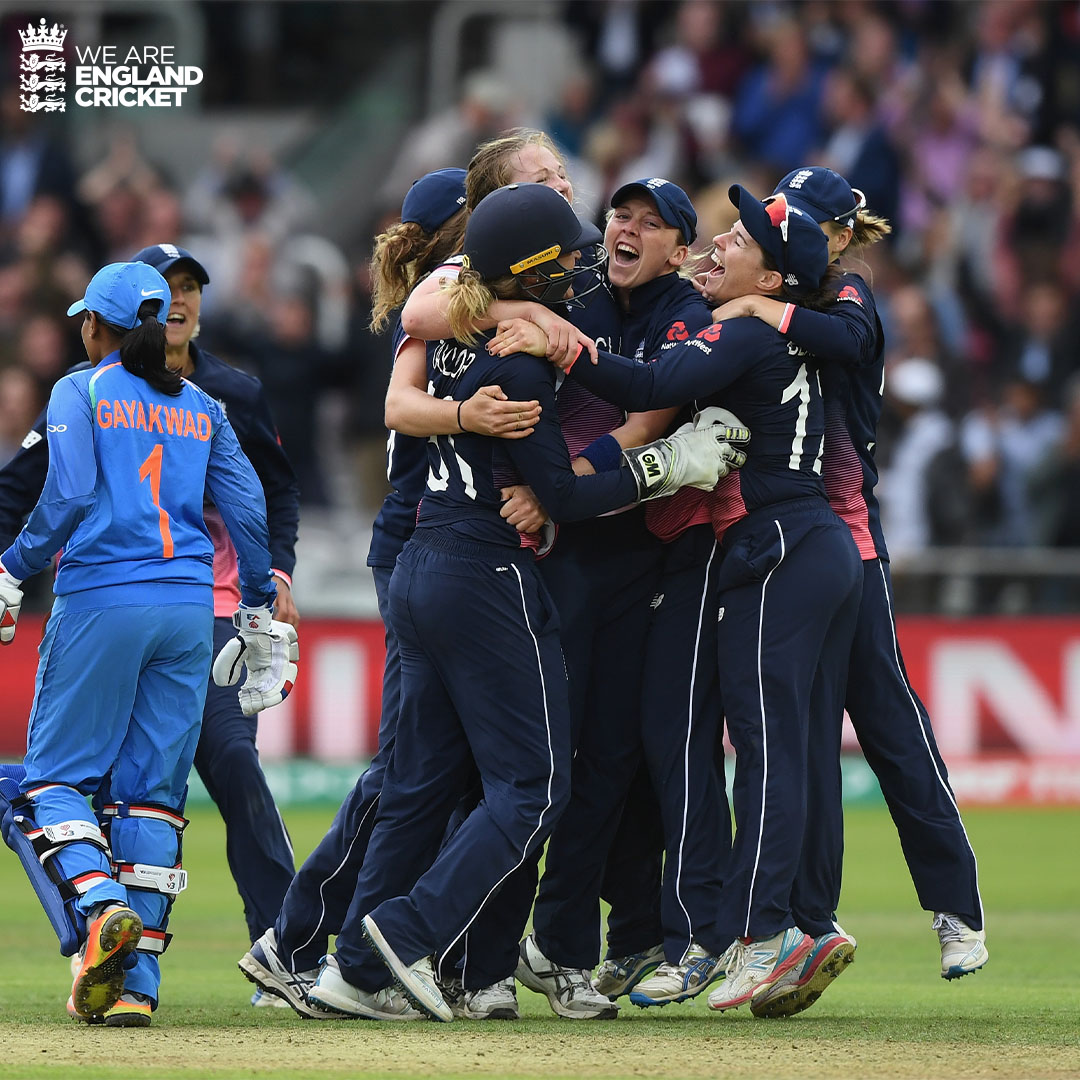 #OnThisDay in 2017 😍 🏆   @cricketworldcup champions! https://t.co/uxDsq92Zvd